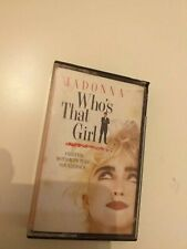MADONNA who's that girl  CINTA TAPE CASSETTE  SPAIN