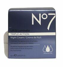 No 7 Lift & Luminate Triple Action Night Cream 50 ml