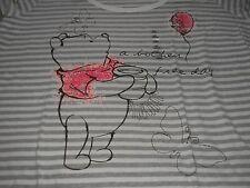 4XL Winnie The Pooh Bother Free Day Disney Store Scoop Neck Tee Shirt NIP