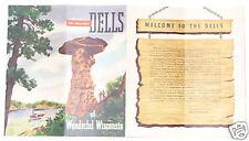 Beautiful Dells of Wonderful Wisconsin brochure 1940s