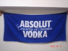 ABSOLUT VODKA Large Towel 60 x 27.5 inches NEW