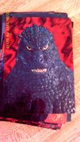 1996 Godzilla Chromium 54 CARD SET-WITH CHECKLIST