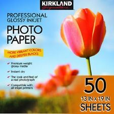 Kirkland Professional Glossy Photo Paper - 13 x 19 (50 Sheets) FAST SHIPPING