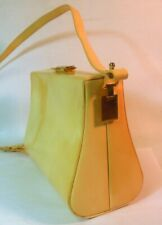 Vintage RARE RODO Purse Bag Patent Leather Florence ITALY DESIGNER Chic
