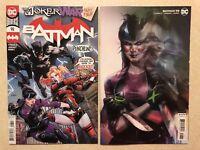 BATMAN # 98 Lot (2020) — Covers A & B Variant PUNCHLINE JOKER WAR — NM