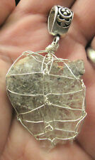 Witches Finger Fingers Crystal Pendant #30 spirit guides quartz Zambia!