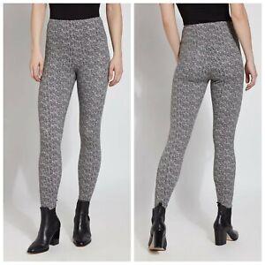 Lysse Denim Legging Slimming Stretch High Rise Geometric Print Sm Blogger Fall