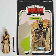 Vintage Kenner Star Wars Tusken Raider Sand figure with ESB backer card Complete