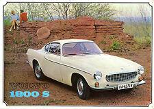 Volvo 1800 S 1964-65 UK Market Sales Brochure