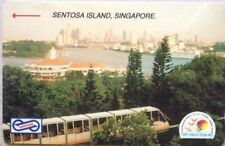 Malaysia Used Phone Cards - Sentosa Island, Singapore