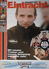 Programm 1996/97 SG Eintracht Frankfurt - VfB Lübeck