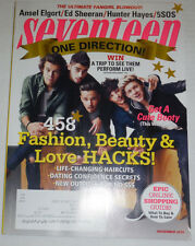 Seventeen Magazine One Direction & Ansel Elgort November 2014 120514R