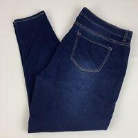 Lane Bryant Skinny Jeans Women's Women's Size 22 Stretch Dark Wash