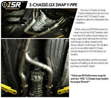 ISR Performance LS Swap Exhaust Y Pipe w/ Gaksets S Chassis Silvia 240sx S13 S14