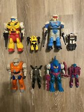 Transformers Pretenders lot Bumblebee, Jazz, Groundbreaker,Submaurauder Complete