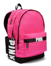 *NEW!* Victoria's Secret Hot PINK Campus Backpack Full Size School Pink On Fleek