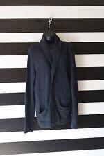 Abercrombie & Fitch Women's Cardigan Knit V-Neck Navy Size L Large