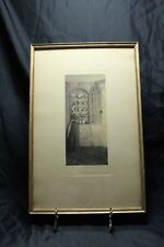 """Original Wallace Nutting """" The Corner Cupboard """" Hand-colored Photograph 1910"""