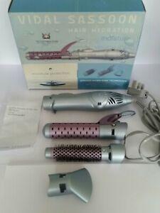 Vidal sassoon Volume Style Heated Air Styler Hot Air Dryer Brush Curler straight