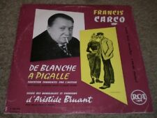 De Blanche A Pigalle Francis Carco~RARE France Import~Original Wax Inner~VG++