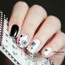 1 Stk Nagelsticker Nail Art Tattoo Aufkleber BORN PRETTY Blumen Muster BP-W13