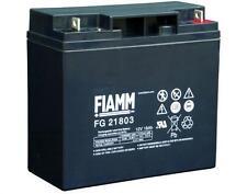BATTERIA FIAMM FG21803 12V 18A PIOMBO GEL ERMETICA 18AH RICARICABILE 13,8V UPS