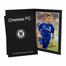 Chelsea Autographed Football Player Photographs