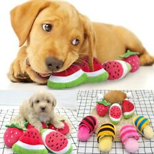 Dog Toys Squeaky Sound Dogs Toy Stuffed Plush Bone Slipper Puppy For Small Dogs