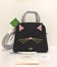 New Kate Spade Cat's meow Cat Small Lottie Satchel Crossbody Purse Bag PXRU9448