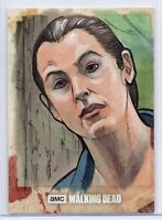 Walking Dead Season 8 Part 1 Trading Card SKETCH / TARA CHAMBLER by Brad Hudson