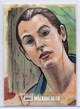 Walking Dead Season 8 Part 1 Trading Card SKETCH / TARA CHAMBLER by Brad Hudson