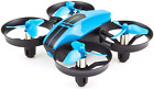 UDI U46 Mini Drone for Kids 2.4Ghz RC Drones w Auto Hovering Headless Mode Blue