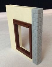 REPLACEMENT Playmobil #4490 Large Animal Farm SIDE WALL w WINDOW Piece Part 2005