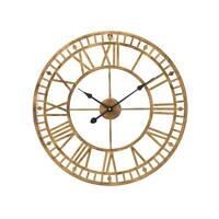 60cm Big Roman Numerals Giant Open Face Metal Large Outdoor Garden Wall Clock