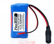 Un SANYO 18650C1S2P Li-Ion Battery Pack 3.7V 5200mAh con spina PCM all'interno &