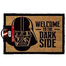 Star Wars bienvenido al lado oscuro oficial Felpudo Estera 60 X 40 cm Fibra de Coco PVC de vuelta