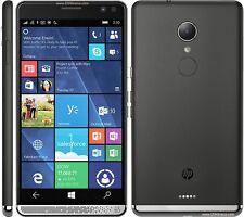 HP Elite x3 Smartphone - 64 GB Built-in Memory - Wireless LAN - 4G - Bar - Black