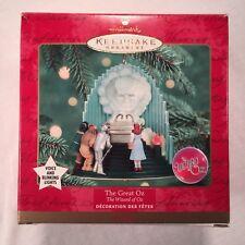 "Hallmark Keepsake Ornament 1999 ""The Great Oz"" Magic Ornament ~ Wizard of OZ"