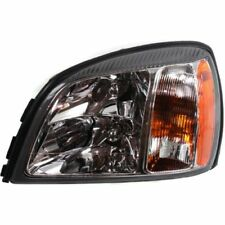 For DeVille 03, Driver Side Headlight, Clear Lens