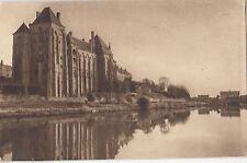 BF16837 l abbaye de solesmes vue de la rive droite de la france front/back image