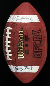 President Gerald Ford Jimmy Carter George Bush Signed Presidential Football JSA