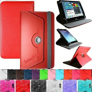"""Universal Flip Leather Cover Case Stand For ACER & LENOVO 10""""/10.1""""inch Tablets"""