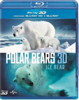 Polar Bears - Glace Ours 3D+2D Blu-Ray (8292288)