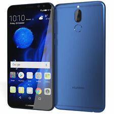 Huawei Mate 10 Lite RNE-L03 64GB GSM Unlocked Android SmartPhone - Aurora Blue