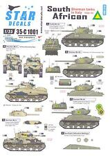 Star Decals 1/35 SOUTH AFRICAN SHERMAN TANKS IN ITALY 1944-1945