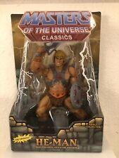 MOTU masters of the universe classics he-man NIB with White Mailer