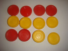 MB Games Connect 4 Four Original Spare Counters Lots of 4 - 2 - 1