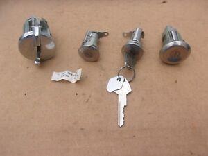 NOS Mopar 1979-1984 Omni Charger Horizon TC3 Turismo Ign Door and Hatch Lock Set