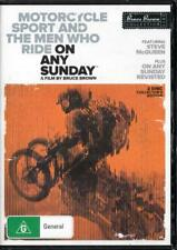 ON ANY SUNDAY PLUS ON ANY SUNDAY REVISITED NEW & SEALED R4 DVD - FREE LOCAL POST