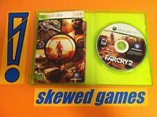 Far Cry 2 PreOrder Edition Farcry - XBox 360 Microsoft COMPLETE